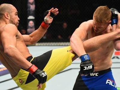 Thales Leites, Sam Alvey, UFC Nashville, MMA (Foto: Getty Images)