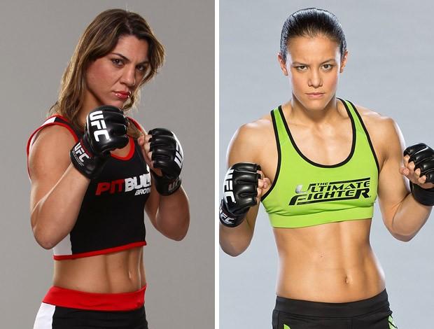 MMA Bethe Correia x Shayna Baszler (Foto: Montagem sobre foto da Getty Images)
