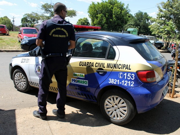 Guarda de Elias Fausto consegue habeas corpus para usar arma em todo estado (Foto: Guarda Municipal/Divulgação)