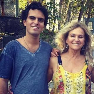 Rian Brito e Brita Brazil (Foto: Reprodução/ Facebook)