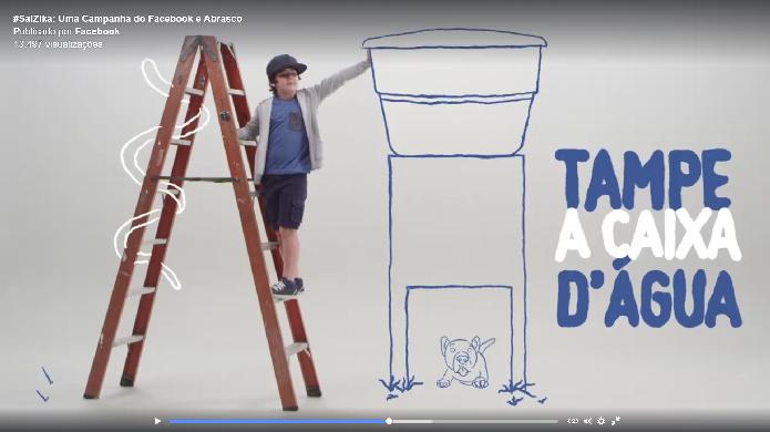 A campanha consiste em vídeos educativos sobre como combater o mosquito (Foto: Felipe Alencar/TechTudo)