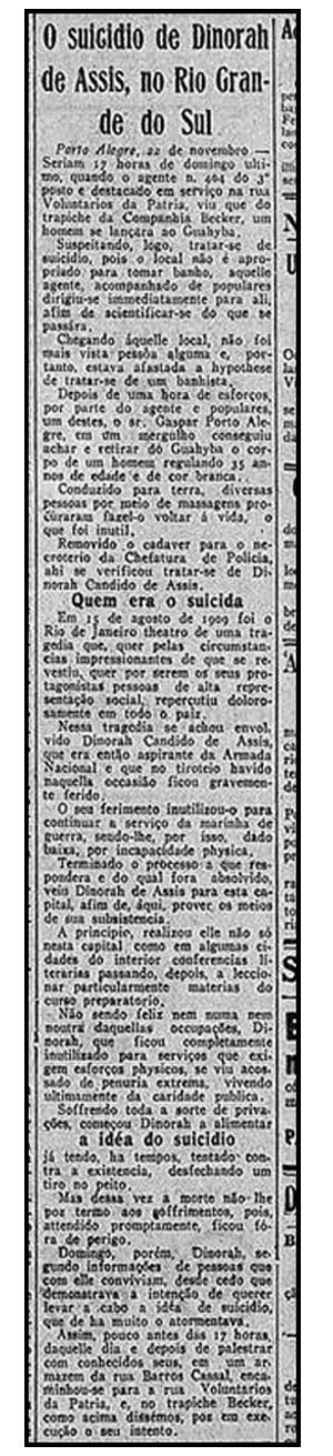 jornal Correio da Manhã Dinorah de Assis 2 (Foto: Reprodução)