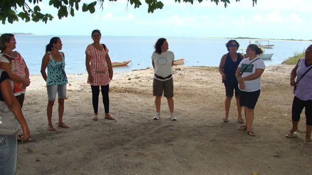 Educadores são sensibilizados para a importância de preservar a região. (Foto: Genilson Geraldo/Acervo FMA)