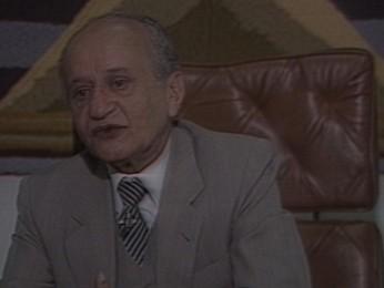 Ex-presidente do STF, Luiz Rafael Mayer, morre no Recife (Foto: Reprodução / TV Globo)