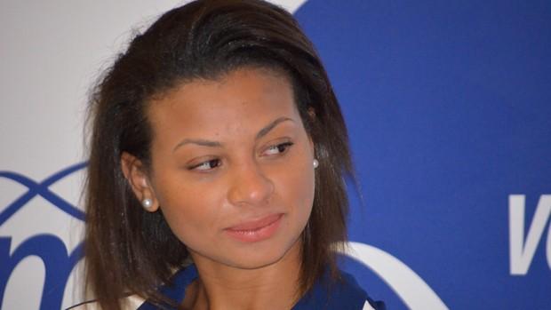 Waleska é a principal contratação do time feminino de Campinas (Foto: Murilo Borges/Globoesporte.com)