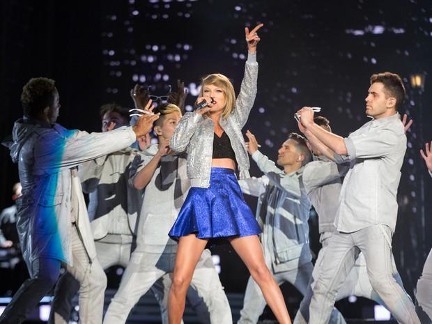 ROCK IN RIO USA: A cantora Taylor Swift se apresenta no festival (Foto: Divulgação)