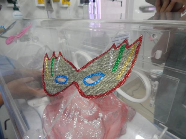 Máscaras fazem parte da atividade (Foto: Santa Casa/Divulgação)