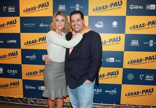 Christine Fernandes e Leandro Hassum (Foto: Celso Tavares/EGO)