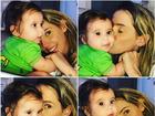 Deborah Secco compartilha foto com a filha Maria Flor na web