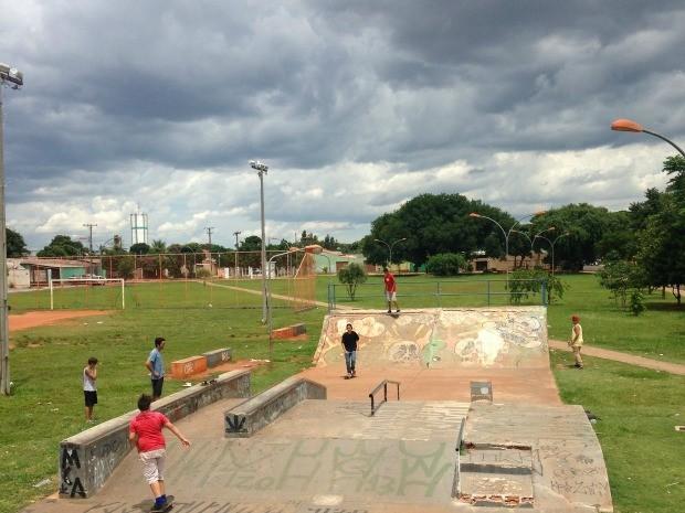 Campo Grande na Trde deste domingo (11) (Foto: Leandro Oliveira/TV Morena)