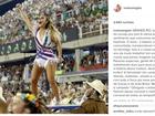 Ivete Sangalo deseja boa sorte a Grande Rio: 'Melhor Carnaval'
