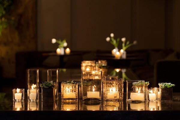 Repetição de velas (Foto: Julia Ribeiro)