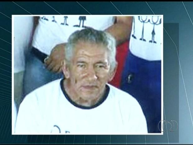 Comerciante foi morto nesta quarta-feira (16) (Foto: Reprodução/TV Anhanguera)