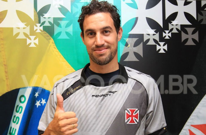 Martín Silva goleiro Vasco (Foto: Marcelo Sadio / Site do Vasco)