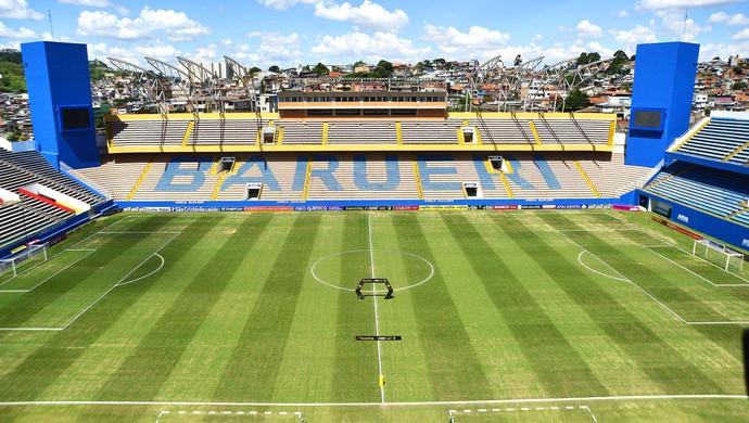 Audax x São Paulo Arena Barueri (Foto: Marcos Riboli)