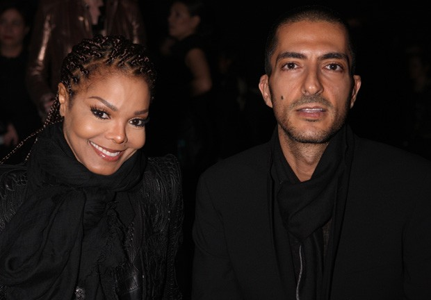 Janet Jackson e o marido, Wissam Al Mana (Foto: Vincenzo Lombardo/Getty Images)