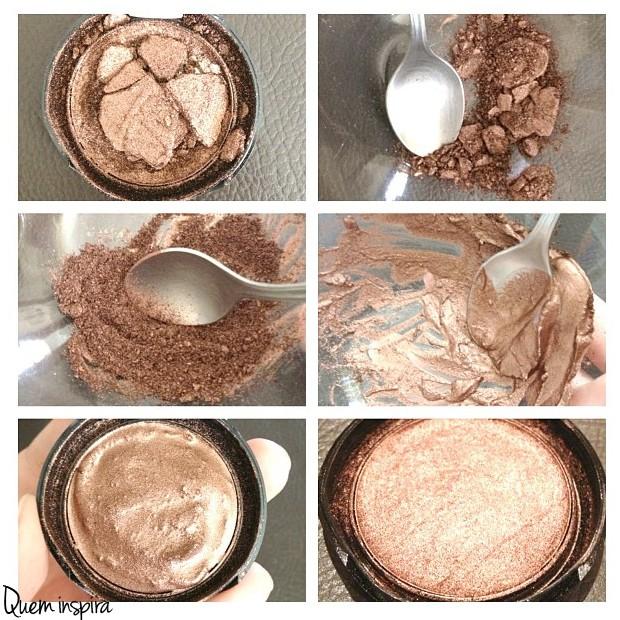 Passo a passo: recupere sua maquiagem quebrada! (Foto: QUEM Inspira)