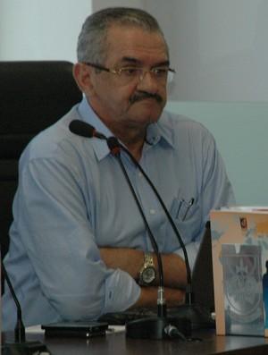 Procurador de Justiça do Ministério Público da Paraíba Valberto Lira (Foto: Yordan Cavalcanti / GloboEsporte.com/pb)