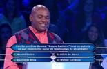 Reginaldo Foro não arrisca e leva R$ 30 mil no 'Quem Quer Ser Um Milinonário?'