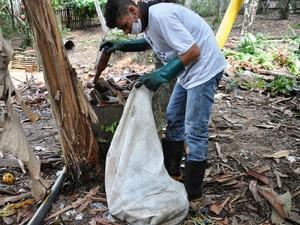Ações de combate à dengue continuam em Cruzeiro do Sul (Foto: Vanísia Nery/G1)