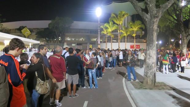 filas maracanã fluminense (Foto: Edgard Maciel de Sá)