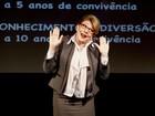 Tânia Bondezan fala sobre a vida sexual de casais em monólogo no AC