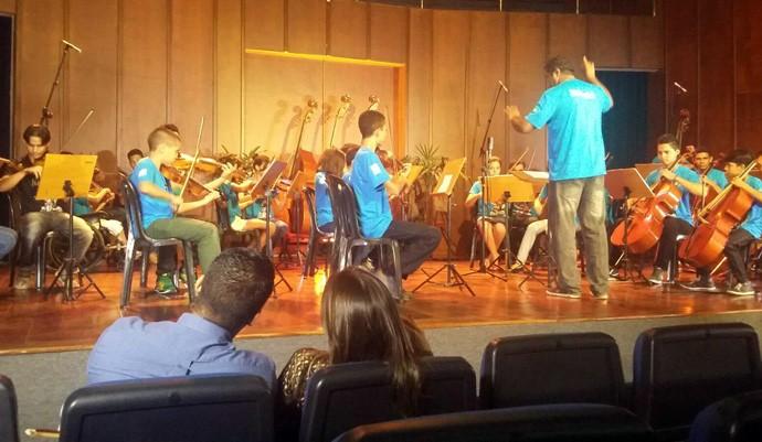 Atração deste sábado (21) traz homenagem aos músicos do Piauí (Foto: André Oliveira/Rede Clube)