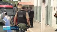 Após explosão em banco no Agreste, dois homens morrem em troca de tiros com a polícia