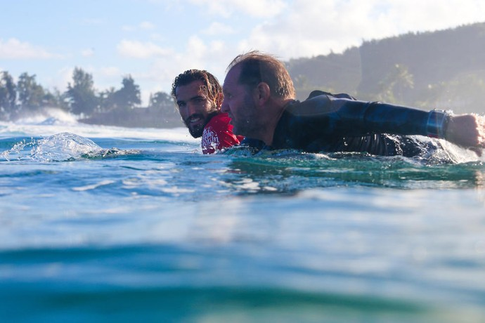 Não só surfistas, mas também caddies e treinadores poderão usar o relógio  (Foto: Divulgação)