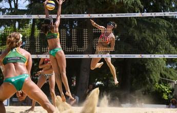 Brasil avança às oitavas com quatro duplas femininas na Croácia