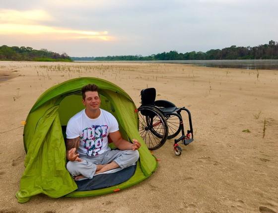 Fernando Fernandes sofreu um trágico acidente em 2009 e, de lá para cá, se tornou tetracampeão mundial de paracanoagem  (Foto: Divulgação)