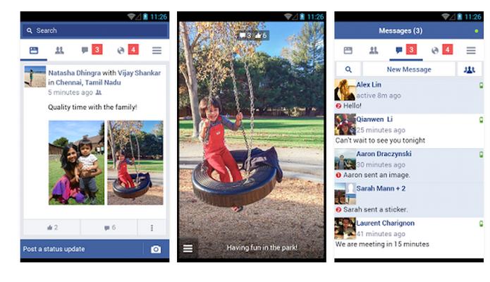 Facebook Lite: reduza a qualidade das fotos e deixe o app mais rápido (Foto: Divulgação/Facebook)