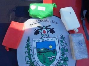 Droga foi apreendia durante operação conjunta na Paraíba (Foto: Divulgação/Secom-PB)
