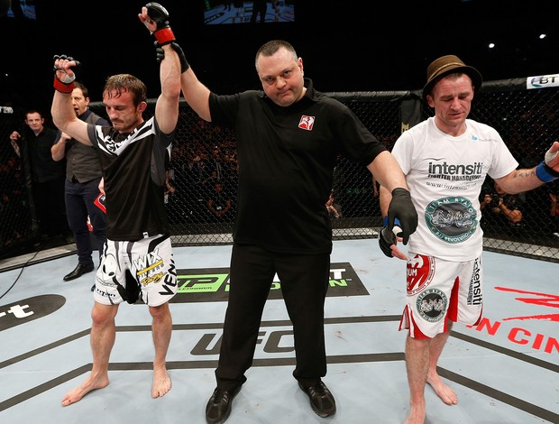 Brad Pickett x Neil Seery MMA UFC (Foto: Getty Images)
