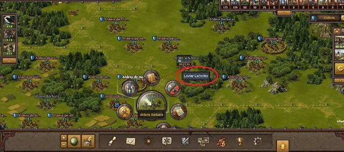 Ataque outras vilas por recursos (Foto: Reprodução / João Moura)