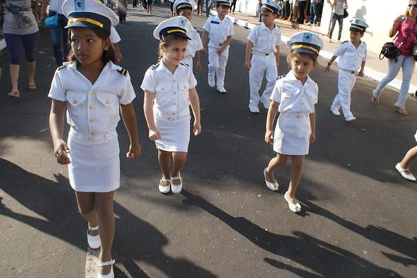 Desfile Semana Pátria Santarém (Foto: Arquivo/TV Tapajós)