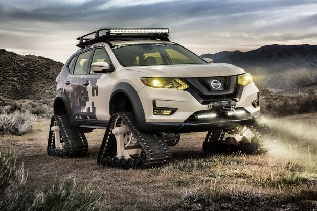 Nissan Rogue Warrior Trail (Foto: Divulgação)