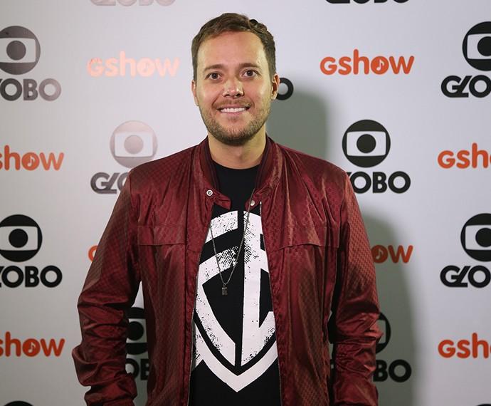 André Valadão antes de entrar no palco no Festival de Promessas (Foto: Carol Caminha / Gshow)