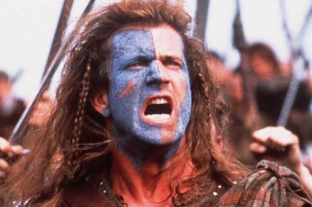 Mel Gibson como William Wallacer em Coração Valente (Foto: Divulgação)