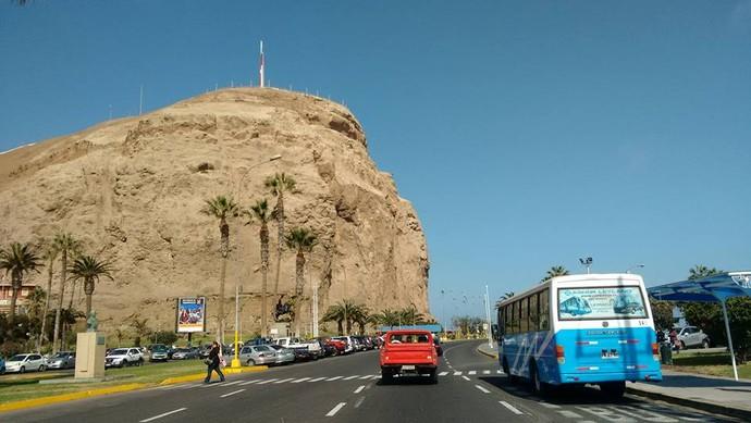 Arica, no Chile (Foto: Istepôs Aventureiros/Divulgação)