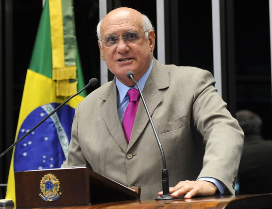 O senador Lasier Martins (PDT-RS) (Foto: Geraldo Magela/Agência Senado)