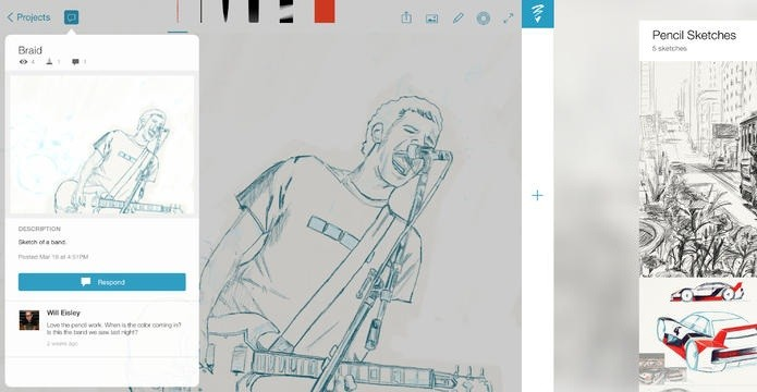 Use o Adobe Sketch para soltar o artista dentro de você (Foto: Divulgação/AppStore)
