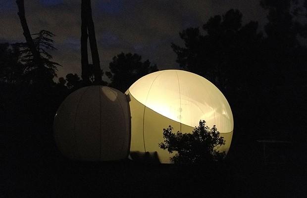 Durante a noite, é possível observar o céu estrelado (Foto: Divulgação)