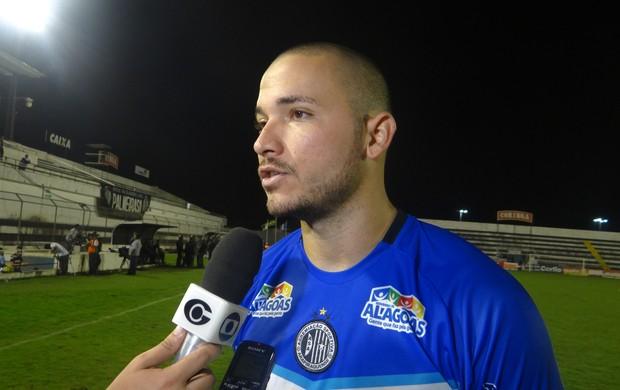 Marcus Vinícius, goleiro do ASA (Foto: Leonardo Freire/GLOBOESPORTE.COM)