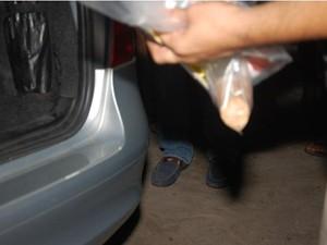 Pênis de borracha que teria sufocado Judite Riccardi foi recolhido pela polícia. (Foto: Cortesia/ Real Deodorense)