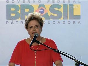 Dilma (Foto: Rede Globo)