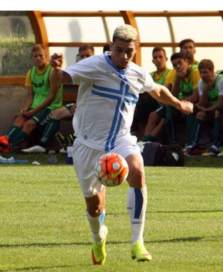 Moisés Lima, do HNK Rijeka (Foto: Divulgação)