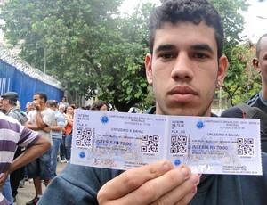Venda de Ingressos Cruzeiro (Foto: Gabriel Duarte)