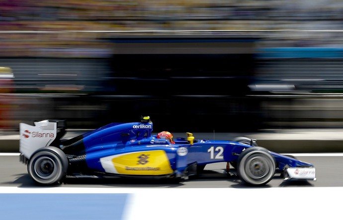 Felipe Nasr treino classificatório GP da China - Fórmula 1 (Foto: EFE)