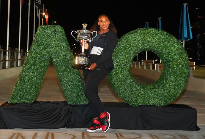 Americana chegou ao 23º título de Grand Slam (Foto: Scott Barbour/Getty Images)